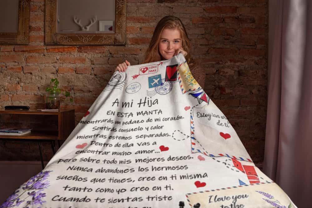 Cobertor Personalizado Mama Hija